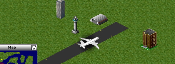 A free online flight simulation game